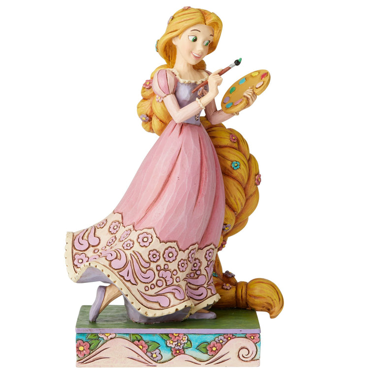 Adventurous Artist - Rapunzel Princess Passion Figurine - Disney Traditions by Jim Shore