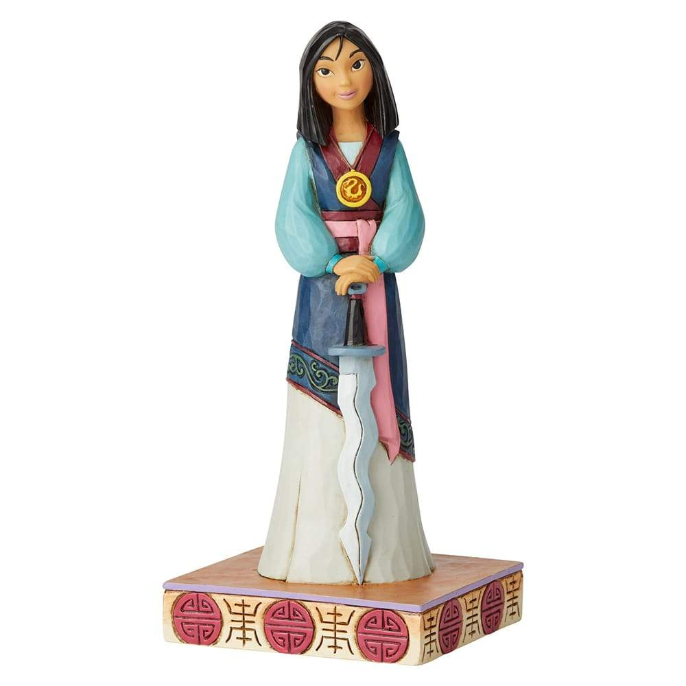 Winsome Warrior - Mulan Princess Passion Figurine - Disney Traditions by Jim Shore