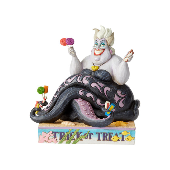Trick or Treat - Ursula Figurine - Disney Traditions by Jim Shore