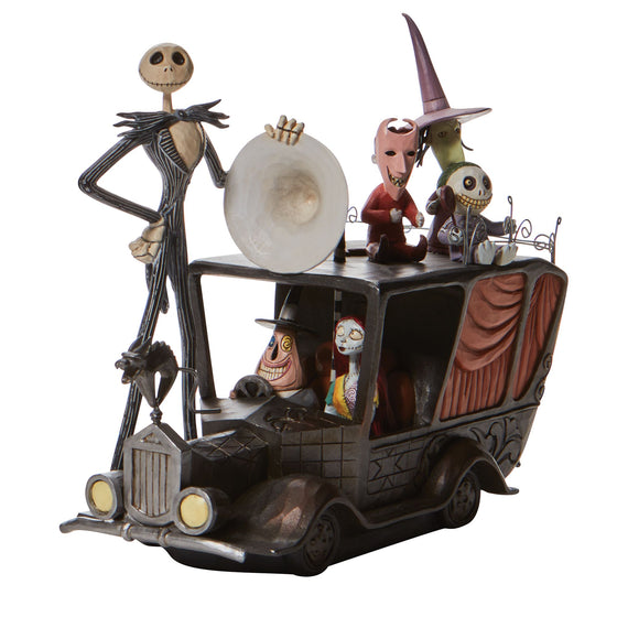 Disney Traditions by Jim Shore Terror Triumphant - Nightmare Mayors Car