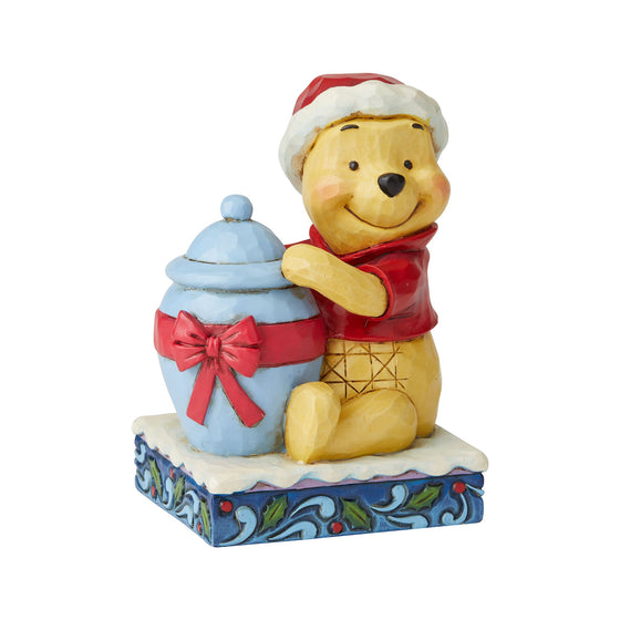 Disney Traditions by Jim Shore Holiday Hunny - Winnie the Pooh