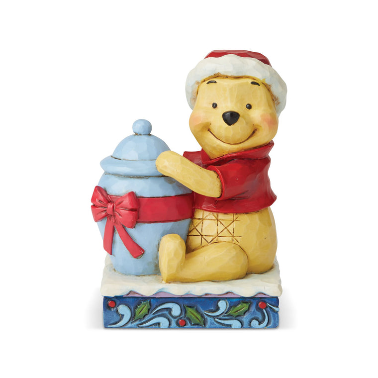 Holiday Hunny - Winnie the Pooh Figurine - Disney Traditions by Jim Shore