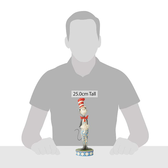 The Cat in the Hat Figurine - Dr. Seuss by Jim Shore
