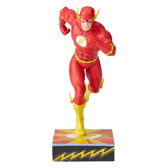 DC Comics by Jim Shore Scarlet Speedster - Flash Silver Age Figurine