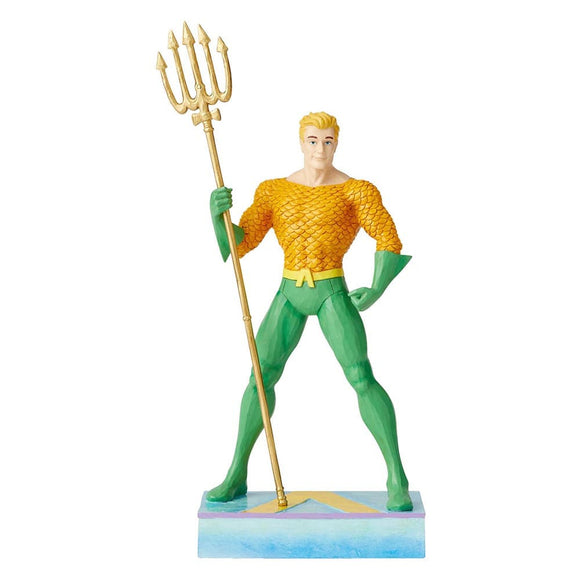 Aquaman Silver Age Figurine - DC Comics by Jim Shore
