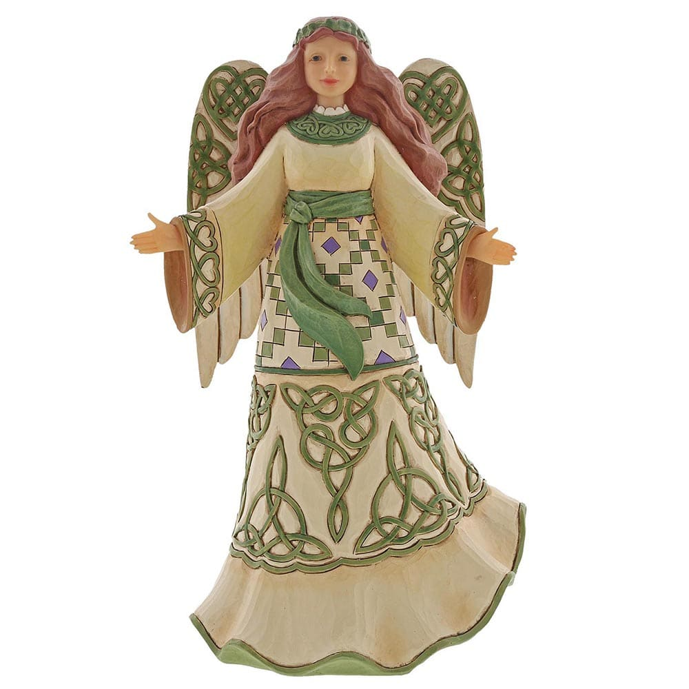 Heartwood Creek by Jim Shore Miracles From Moors To Mountains (Irish Angel Figurine)