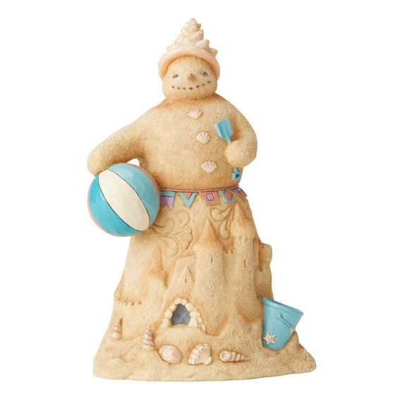 Coastal Sandman Snowman Figurine - Heartwood Creek by Jim Shore