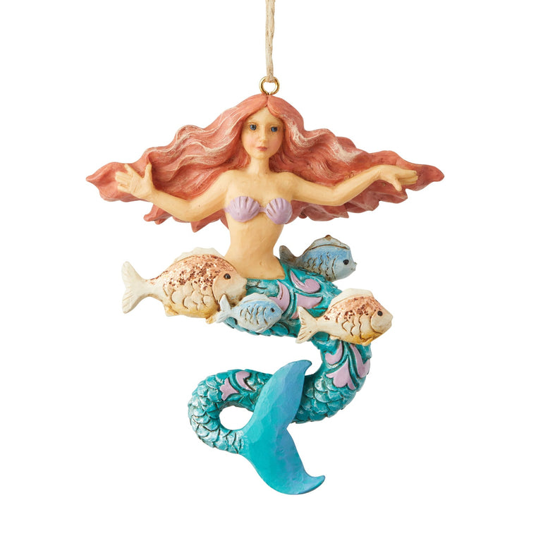 Coastal Mermaid - Hanging Ornament - Heartwood Creek by jim Shore