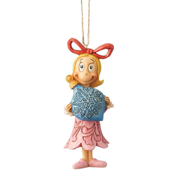 The Grinch by Jim Shore Cindy Lou with Ball Ornament (Hanging Ornament)