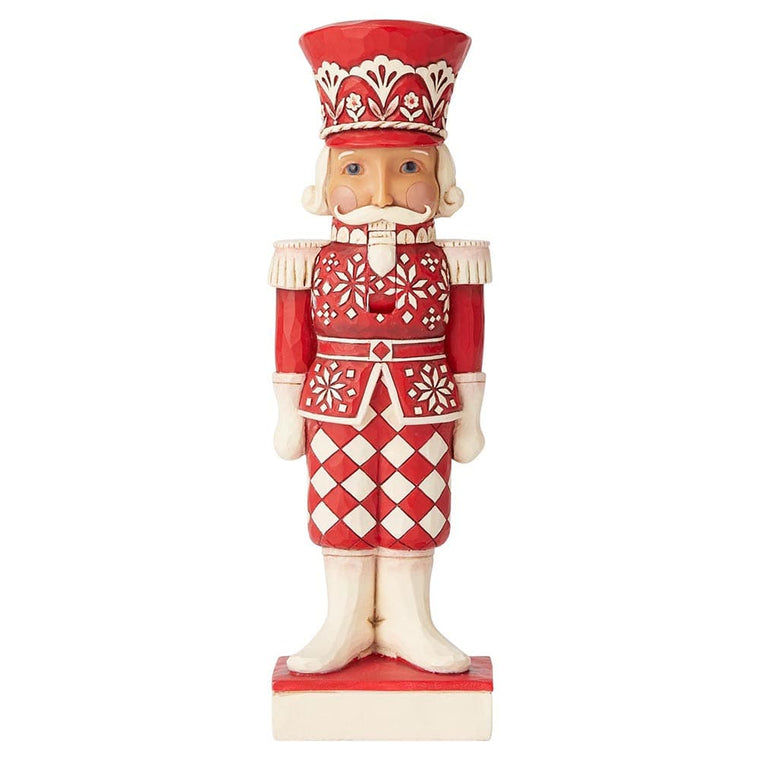 Heartwood Creek by Jim Shore Greetings From The Guard (Nordic Noel Nutcracker Figurine)