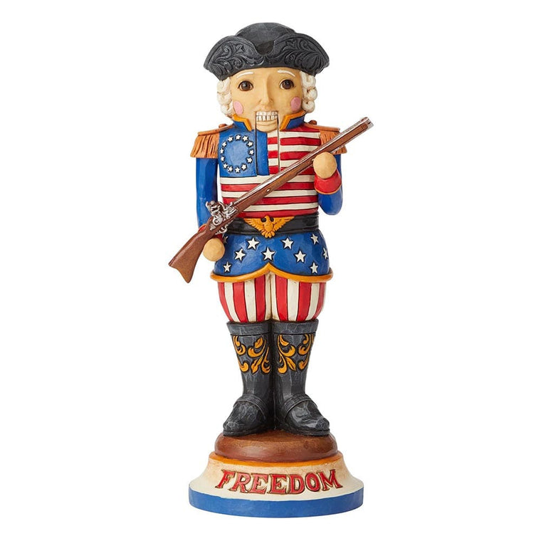 Freedom First And Foremost - American Nutcracker Figurine - Heartwood Creek by Jim Shore