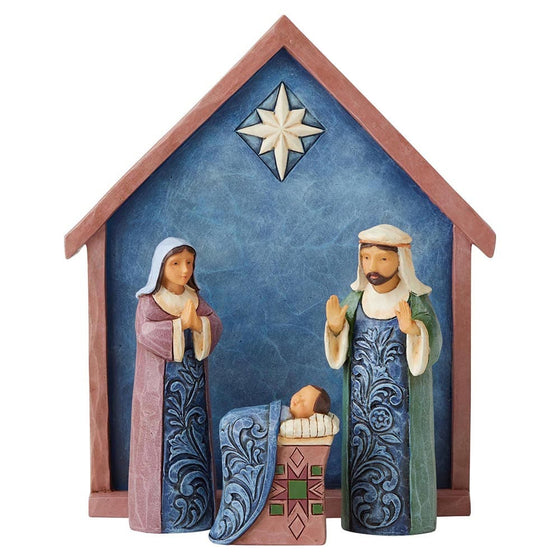 Heartwood Creek by Jim Shore Blessed Bethlehem (Nativity 4 Piece Set)