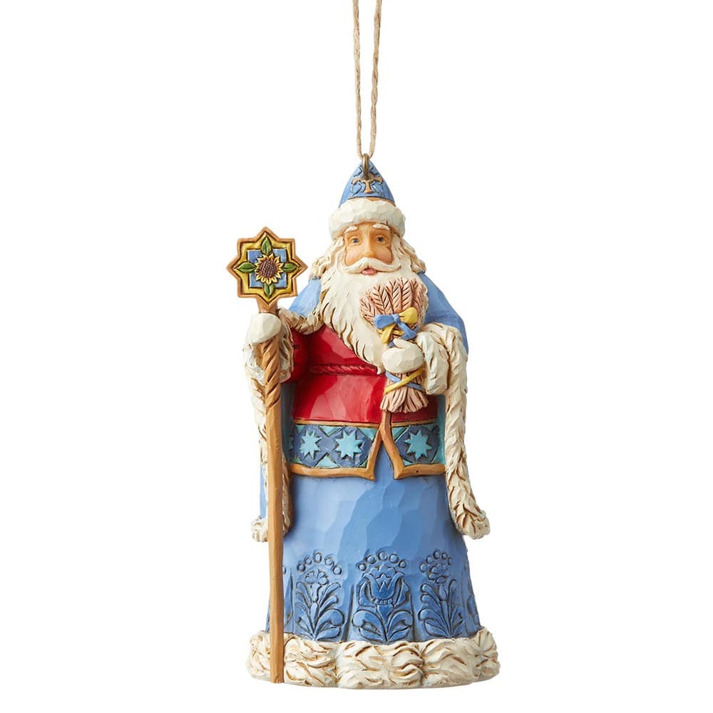 Ukranian Santa Hanging Ornament - Heartwood Creek by Jim Shore