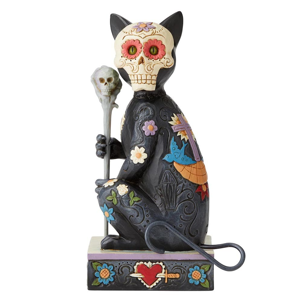 Heartwood Creek by Jim Shore Day of the Dead Cat Figurine