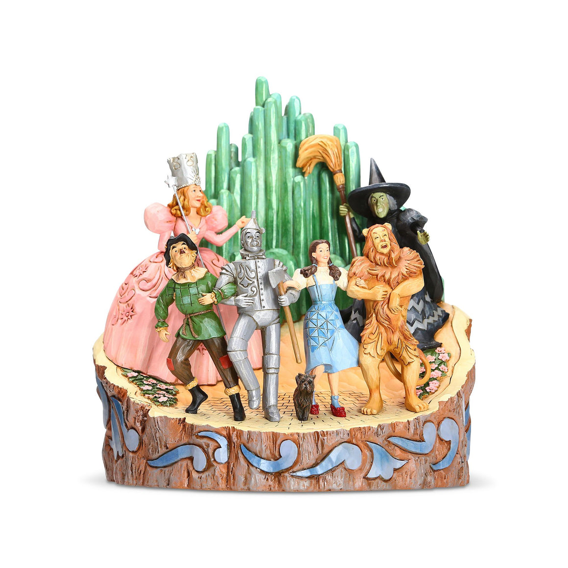 Wizard of Oz by Jim Shore Adventure to the EMERALD CITY (Wizard of Oz Carved ByHeart Figurine)