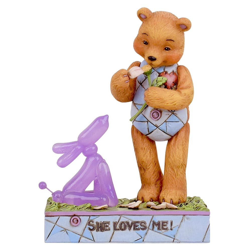 She Loves Me Figurine - Button and Squeaky by Jim Shore