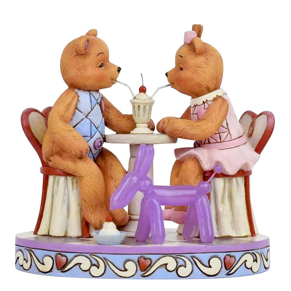 Sharing Sweet Times Figurine - Button and Squeaky by Jim Shore