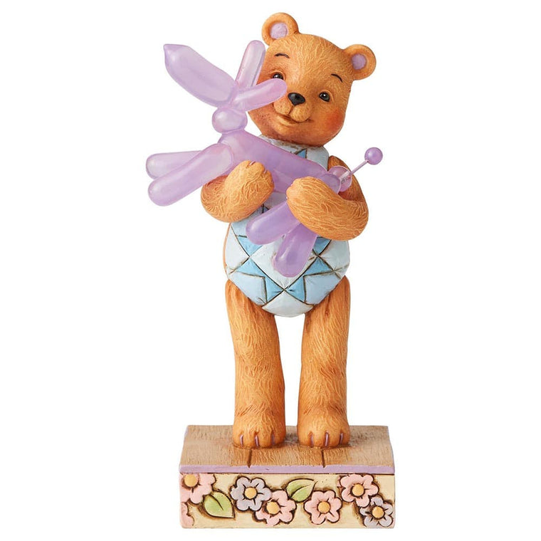 Bear Hugs Figurine - Button and Squeaky by Jim Shore