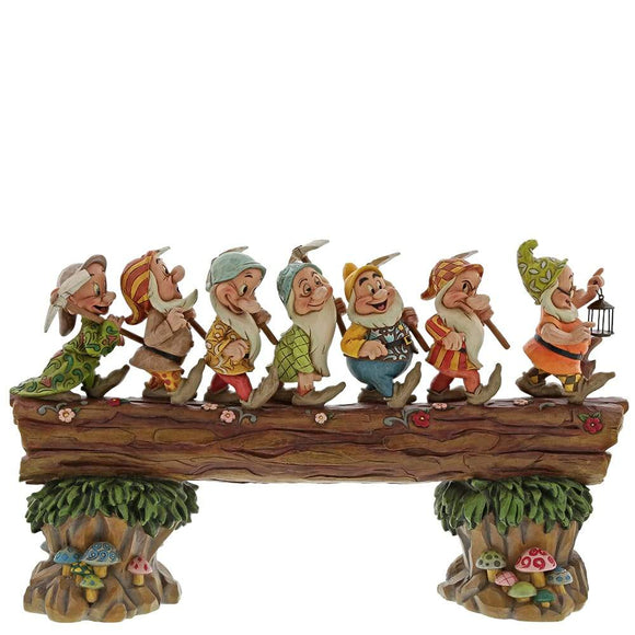 A Good Day's Work, A Good Night's Sleep - Seven Dwarfs Musical - Disney Traditions by Jim Shore