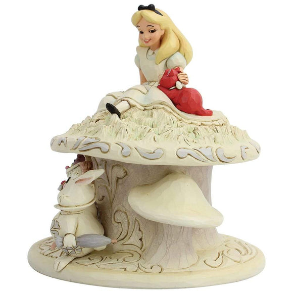 Whimsy and Wonder - Alice in Wonderland Figurine - Disney Traditions by Jim Shore