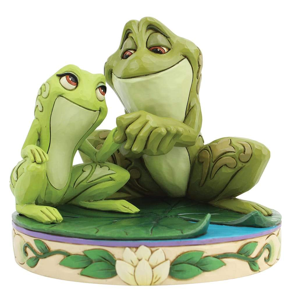 Amorous Amphibians - Tiana and Naveen Figurine - Disney Traditions by Jim Shore