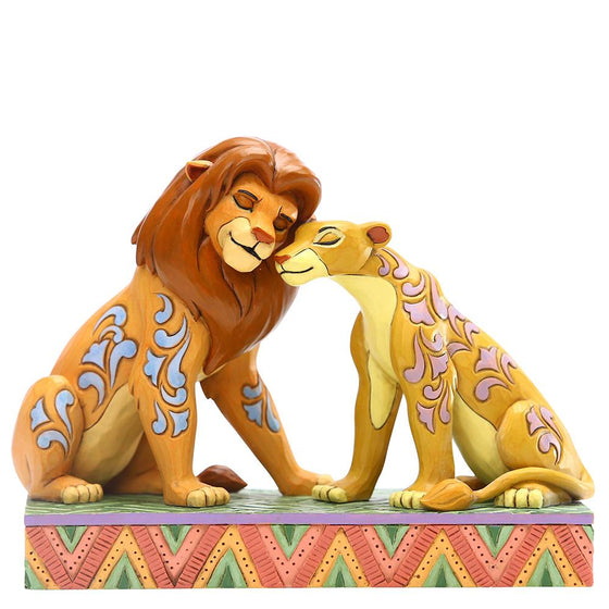 Savannah Sweethearts - Simba and Nala Figurine - Disney Traditions by Jim Shore