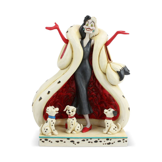 The Cute and the Cruel - Cruella Figurine - Disney Traditions by Jim Shore
