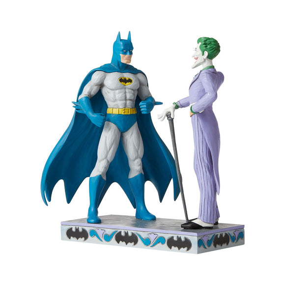 Batman and The Joker Figurine - DC Comics by Jim Shore