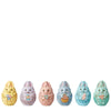 Bunny Eggs Mini Figurines (Pack of 12, 6 Colours) - Heartwood Creek by Jim Shore
