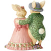 Hare's To Happiness - Bunny Couple with Basket Figurine - Heartwood Creek by JimShore