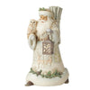 Seek Wonder Within The Winter - Santa Figurine - Heartwood Creek by Jim Shore
