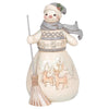 Winter Days Are Joyful Days - Snowman Figurine - Heartwood Creek by Jim Shore