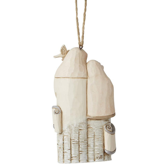 Holy Family Dated Hanging Ornament - Heartwood Creek by Jim Shore
