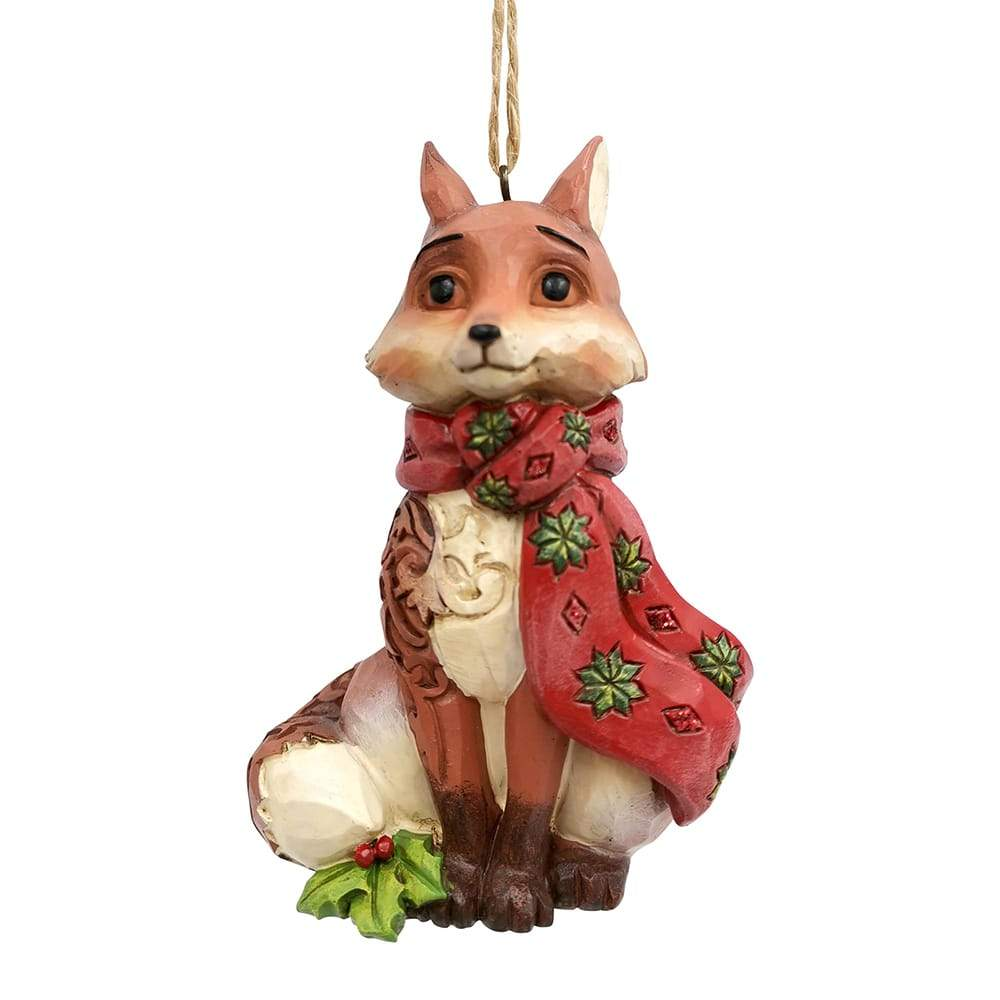 Winter Wonderland Fox (Hanging Ornament)