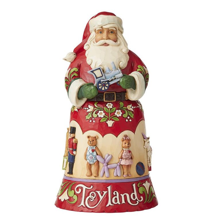 Toyland - 14th in Christmas Song Series Figurine - Heartwood Creek by Jim Shore