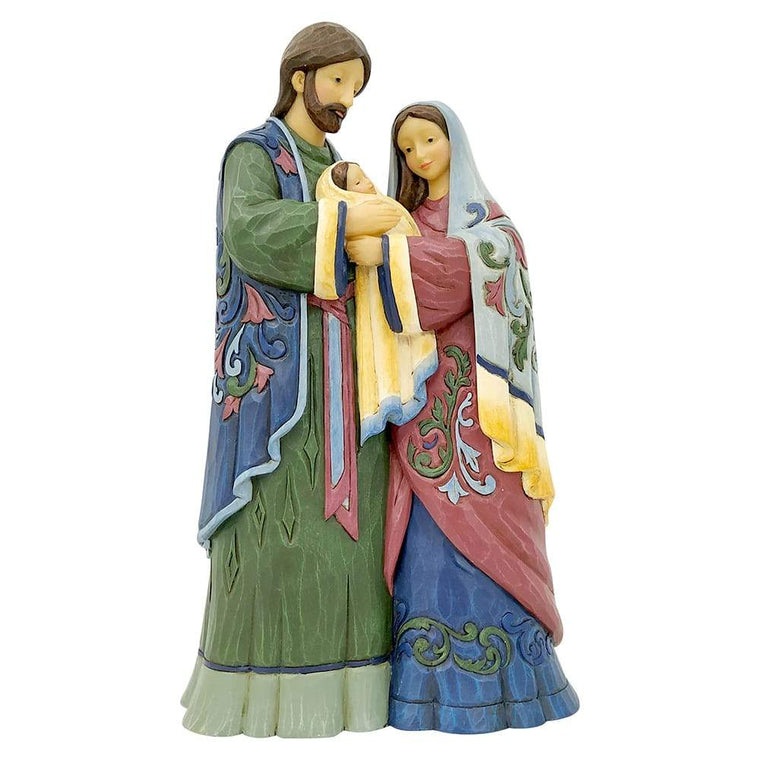 Holy Infant, Born of Grace (One Piece Holy Family Figurine)