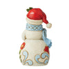 Snowman with Cardinal Mini Figurine - Heartwood Creek by Jim Shore
