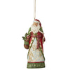 Santa with Winter Scene Hanging Ornament - Heartwood Creek by Jim Shore