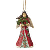 Angel with Wreath Hanging Ornament - Heartwood Creek by Jim Shore
