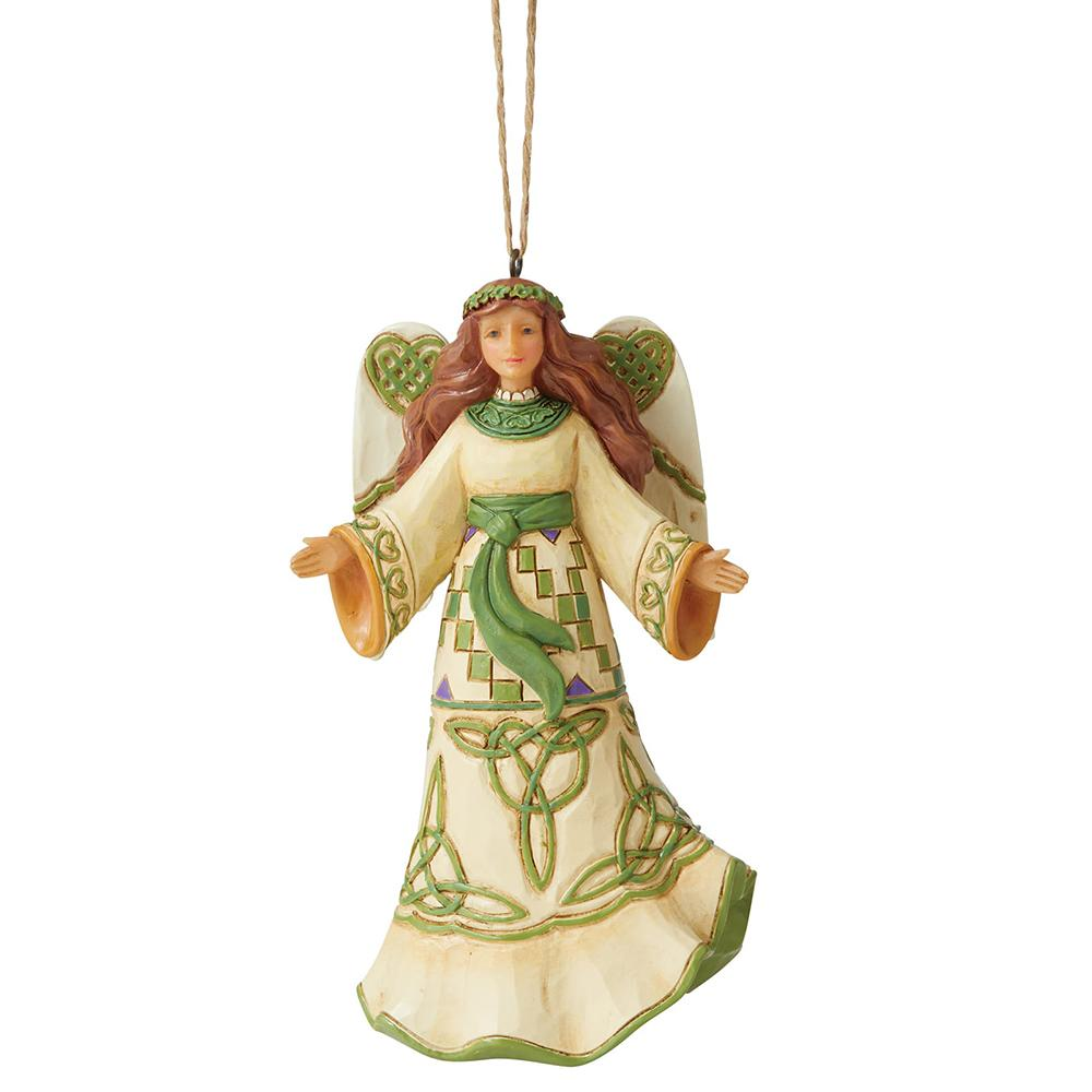 Irish Angel (Hanging Ornament)
