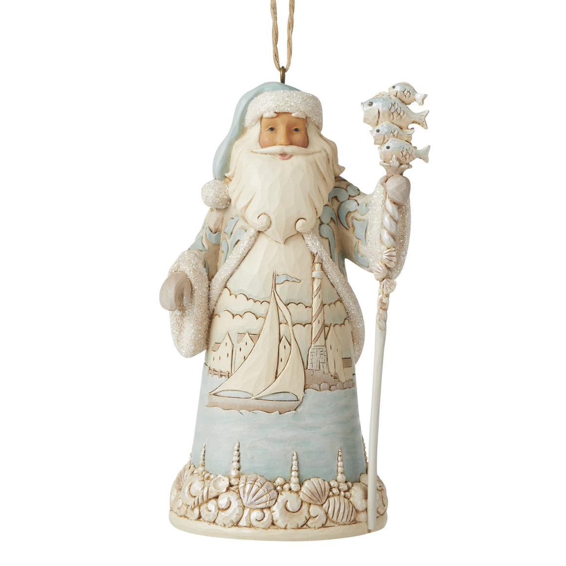 Coastal Santa - Hanging Ornament - Heartwood Creek by Jim Shore