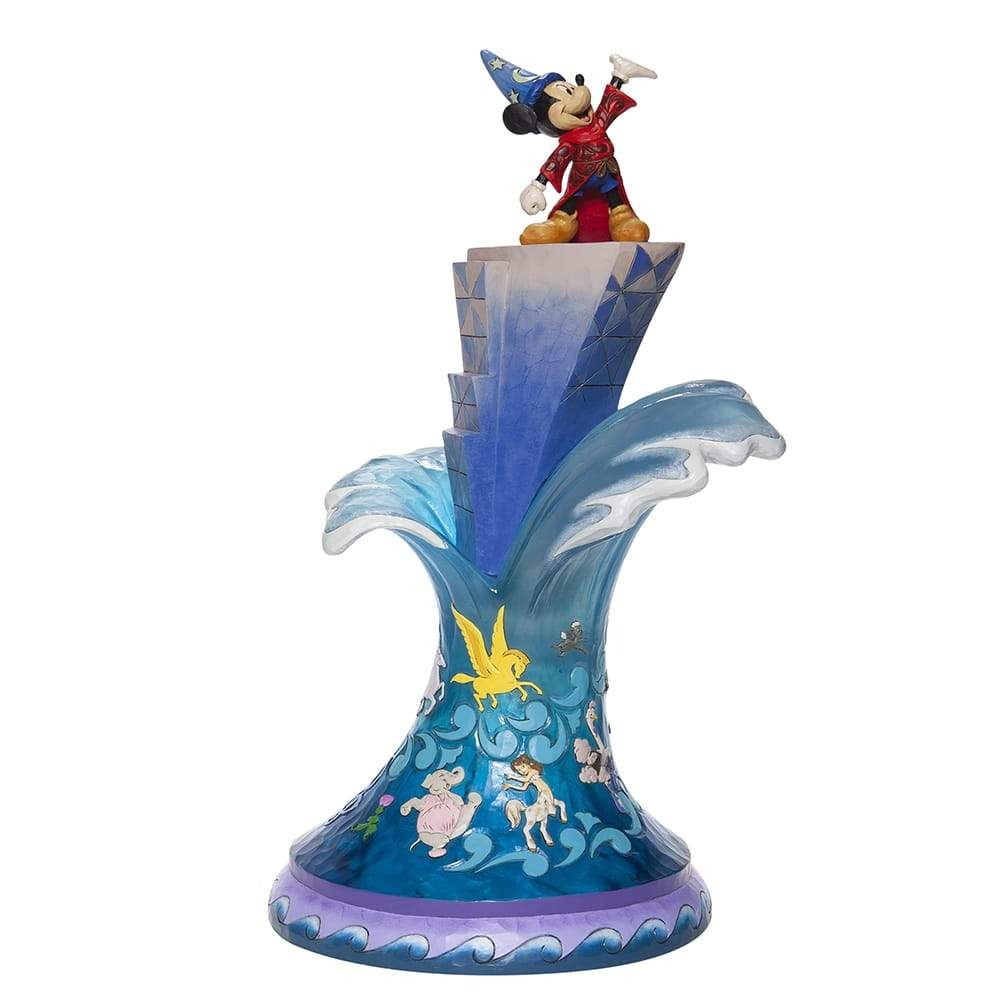 Summit of Imagination (Sorcerer Mickey Masterpiece Figurine)Disney Traditions by Jim Shore