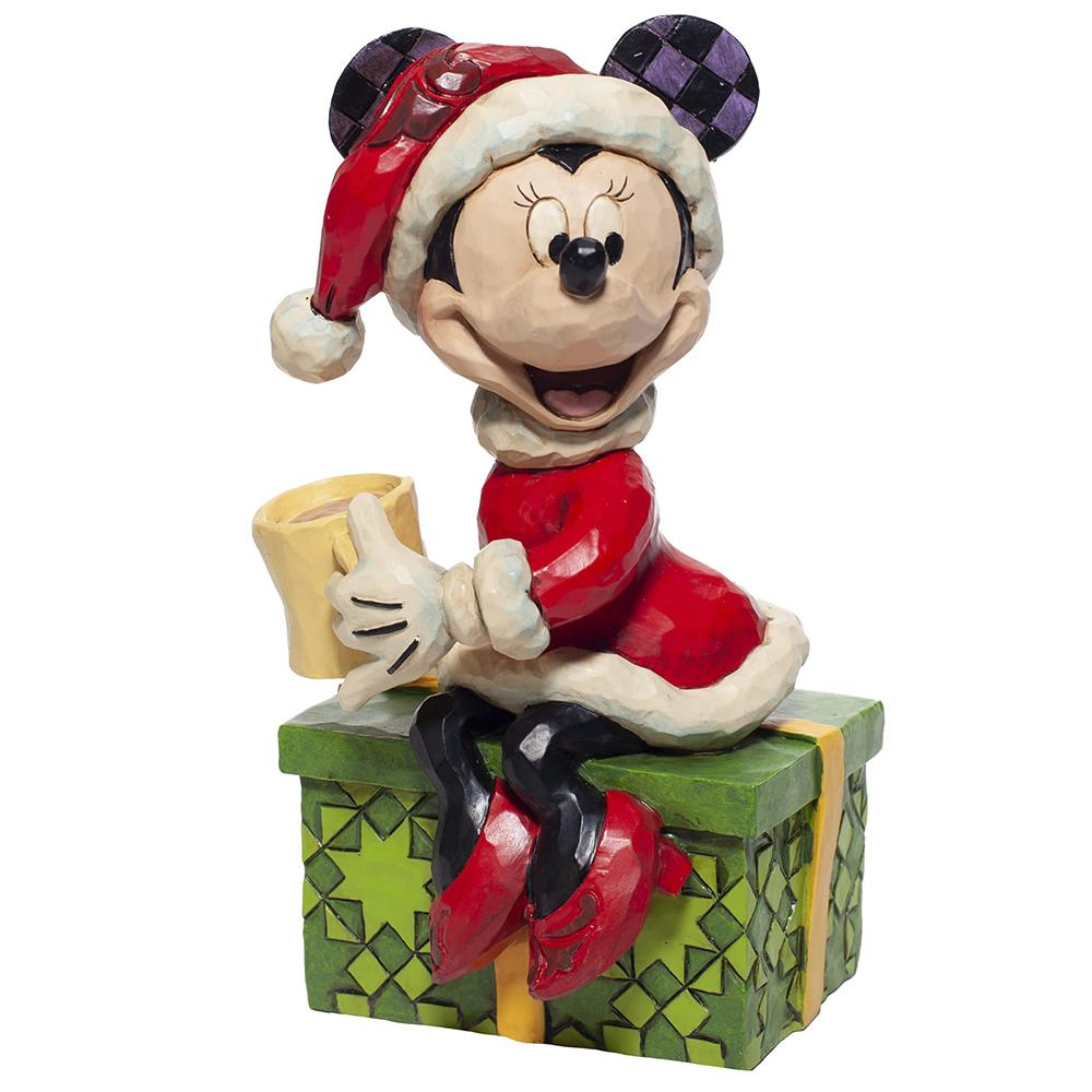 Disney Traditions by Jim Shore Chocolate Delight (Minnie Mouse with Hot Chocolate Figurine)