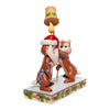 Disney Traditions by Jim Shore Christmas Chip 'n Dale Figurine
