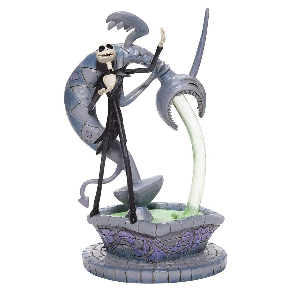Soulful Soliloquy - Jack Skellington on Fountain Figurine - Disney Traditions by Jim Shore