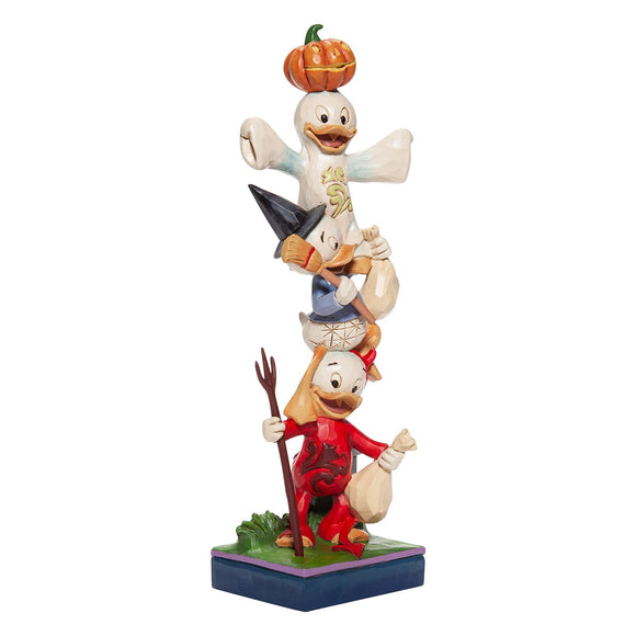 Teetering Trick-or-Treaters (Stacked Huey, Dewey and Louie Figurine)Disney Traditions by Jim Shore