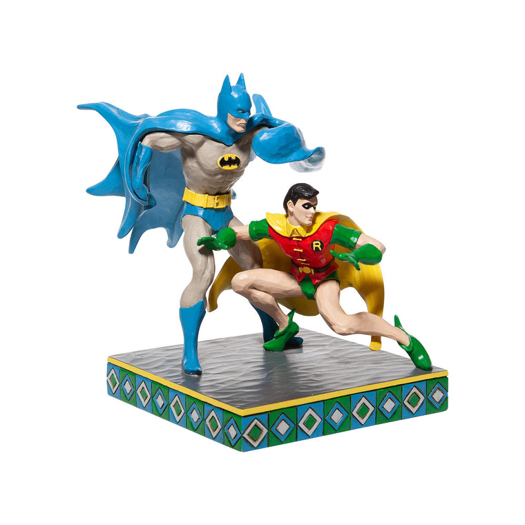 Batman and Robin Figurine - DC Comics by Jim Shore