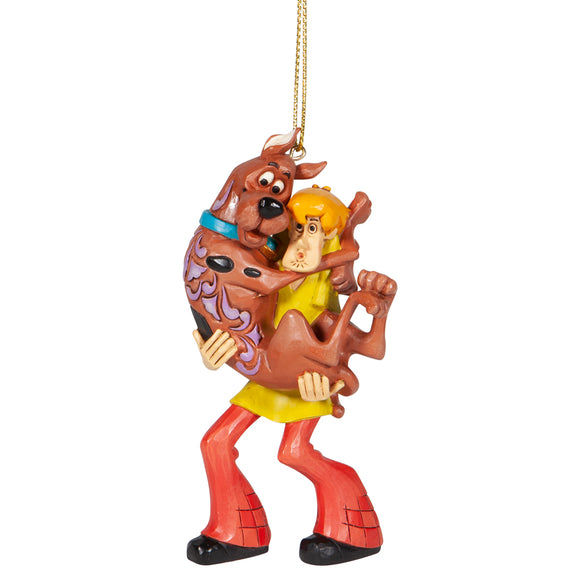 Shaggy Holding Scooby Doo Hanging Ornament - Scooby Doo by Jim Shore