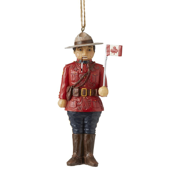 Canadian Nutcrack Hanging Ornament - Heartwood Creek by Jim Shore
