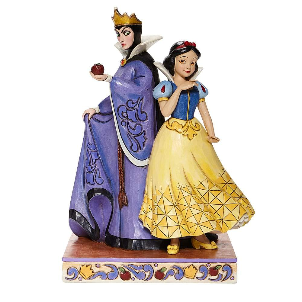 Evil and Innocence -Snow White and Evil Queen Figurine- Disney Traditions by JimShore